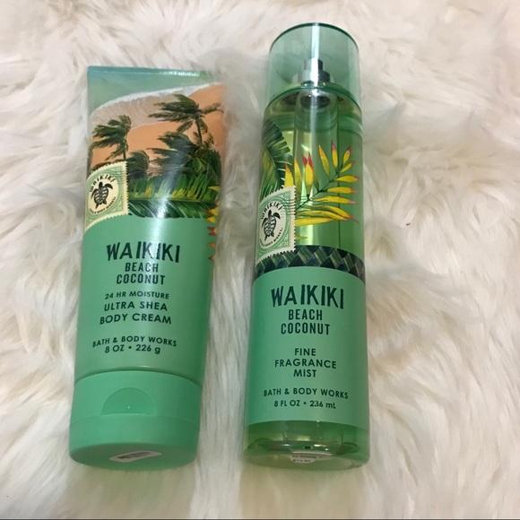B Bw Waikiki Beach Coconut Lotion Spray Nwt
